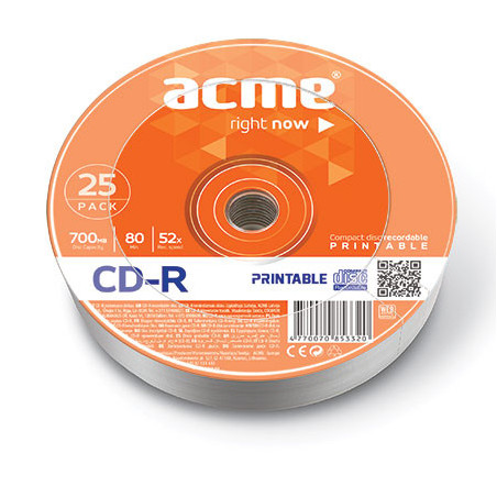 Acme CD-R Printable 0.7 GB,...
